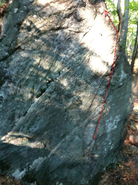 Rock Climbing Photo: Horn