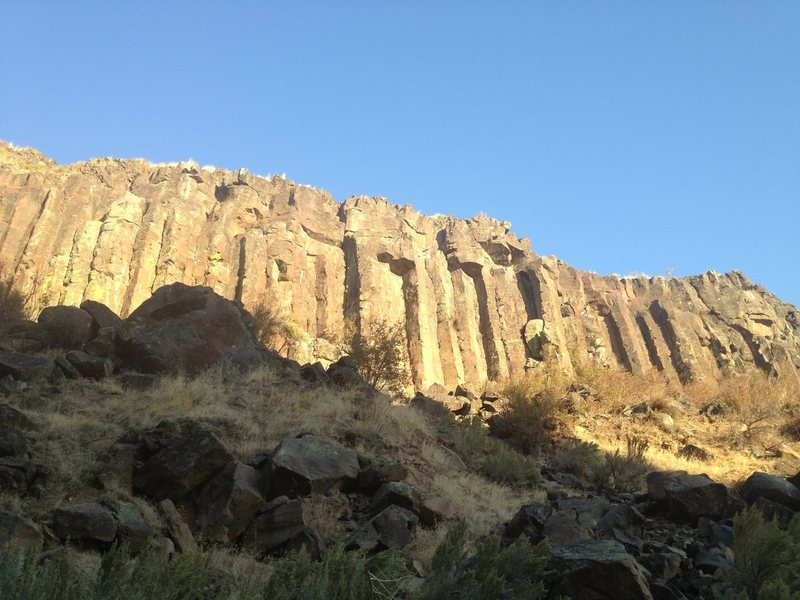 Rock Climbing Photo: East Car gets great afternoon sun.