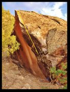 Rock Climbing Photo: En Passant beta.
