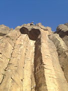 Rock Climbing Photo: Enjoy the double cracks.