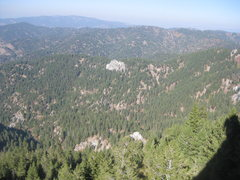 Rock Climbing Photo: View from P1 belay.