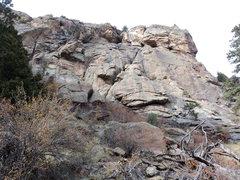 Rock Climbing Photo: Right side of Second Pew.  Interesting possibiliti...