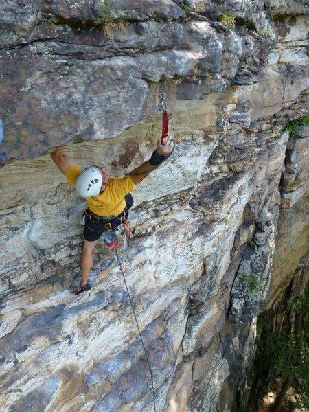 Rock Climbing Photo: Nrg paul