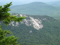 Rock Climbing Photo: Carter Ledge from near the summit of Mt. Chocorua