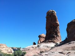 "Rock Climbing Photo: ""The Owl"" Arches NP"