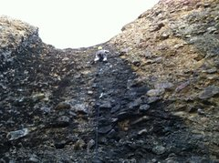 "Rock Climbing Photo: Matt on ""Wet Itchies"""