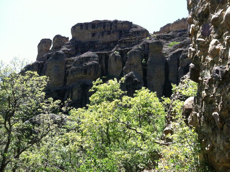 Cobble Climbing Maple Canyon