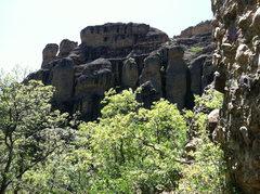 Rock Climbing Photo: Cobble Climbing Maple Canyon