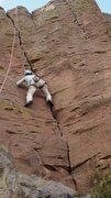 Rock Climbing Photo: Gentry crushing!