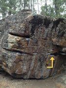 Rock Climbing Photo: Blue CHips start.