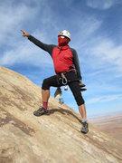 Rock Climbing Photo: This way chaps