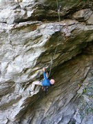 "Rock Climbing Photo: David on ""Killer Of Giants""."