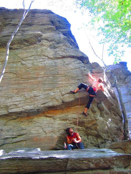 Rock Climbing Photo: Bloody Beet Roots