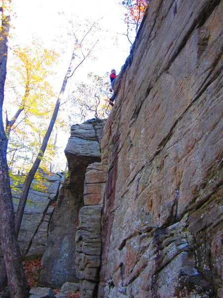 Rock Climbing Photo: Mo Clark Bar Solo