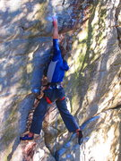 Rock Climbing Photo: Nate taking a lap