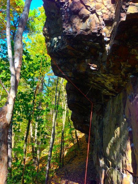 Rock Climbing Photo: Iron Sheik