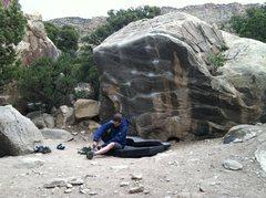 Rock Climbing Photo: Matt Pimpin' Jeans boulder