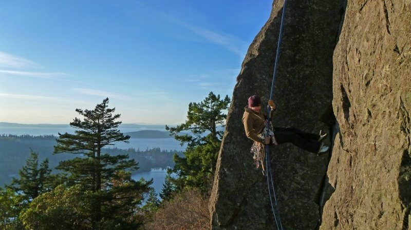 Rock Climbing Photo: Mt Eire