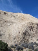 Rock Climbing Photo: Near top of P3