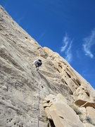 Rock Climbing Photo: Andy on the 200' P4