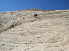 Rock Climbing Photo: Paul on P5