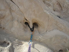 Rock Climbing Photo: The perfect Smiley belay for P5