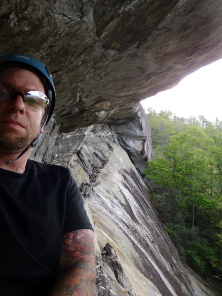 Rock Climbing Photo: Cedar Rock NC
