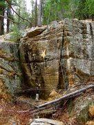 Rock Climbing Photo: Few moves into Earth