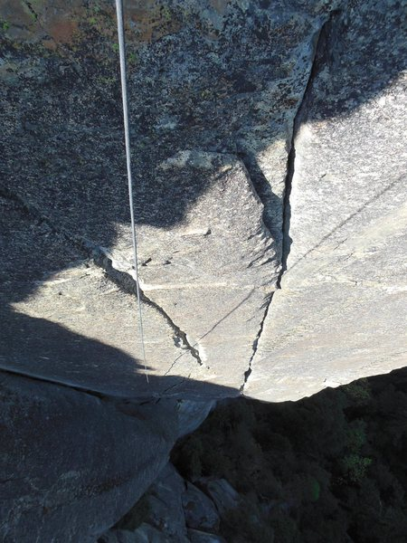 The Left and Right Guru Cracks on rappel. Not actually as nice as they look.