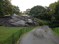 Rock Climbing Photo: Approaching Cat Rock from the sidewalk over from r...