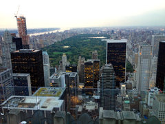 Rock Climbing Photo: Central Park area high point; Rockefeller Center O...