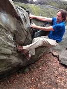Rock Climbing Photo: Wrasslin' Rat Rock