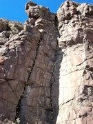 Rock Climbing Photo: Emilia's Corner.  This photo was taken prior to cl...