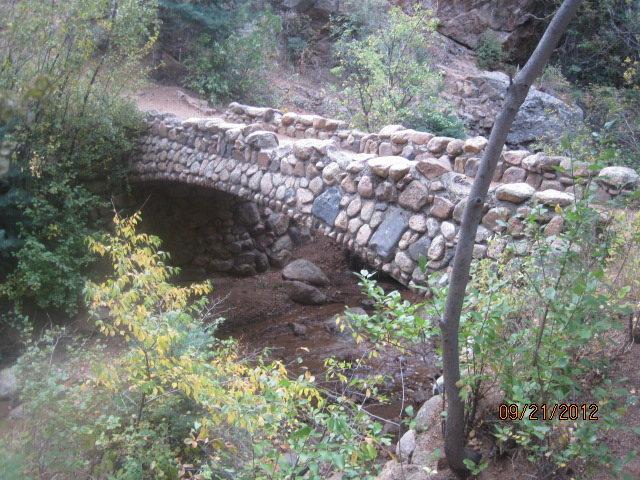 Bridge to main trail.