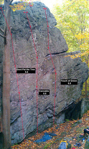 The lower slab at Breakneck