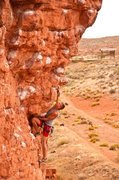 Rock Climbing Photo: Joshua Moreland on Second Coming.