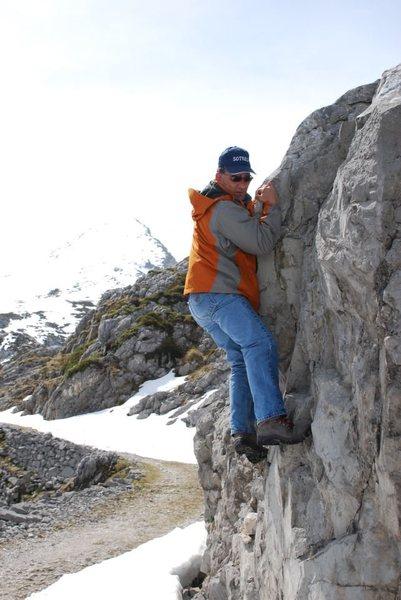 Rock Climbing Photo: a8