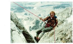 Rock Climbing Photo: Scott Newren. 1981