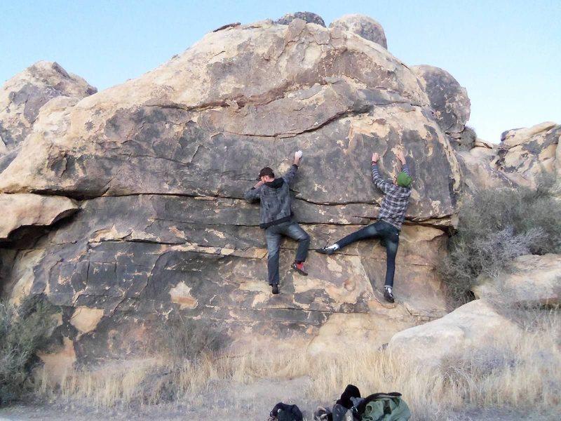 Rock Climbing Photo: Headin up