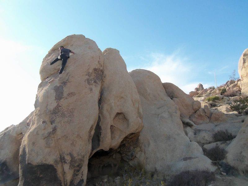 Rock Climbing Photo: Wish I had some bolts