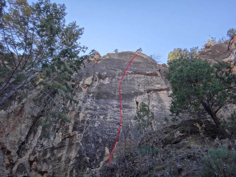 Rock Climbing Photo: Laser Gods, Heaven Pinnacle area, The North End.