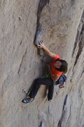Rock Climbing Photo: The broken hold looks to have come from the area b...