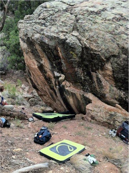 Lost Language Boulder.