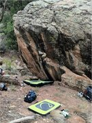 Rock Climbing Photo: Lost Language Boulder.