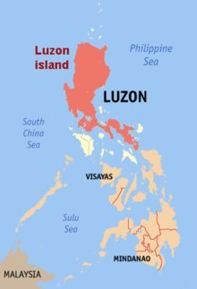 Map of Luzon