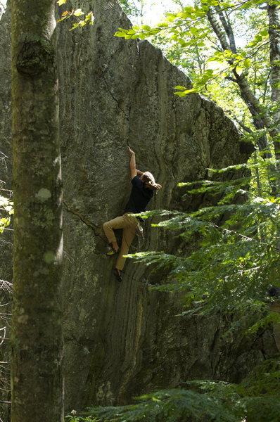 Rock Climbing Photo: Black Jack Crack
