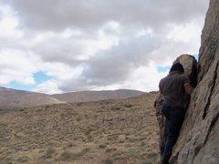 Rock Climbing Photo: High Desert Random Boulder