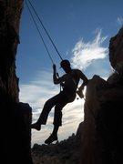 Rock Climbing Photo: Finishing up the day.