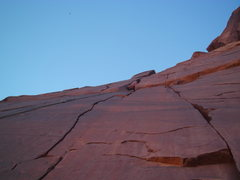 Rock Climbing Photo: Wyatt finding the rest