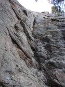 Rock Climbing Photo: Shady Baby's start.